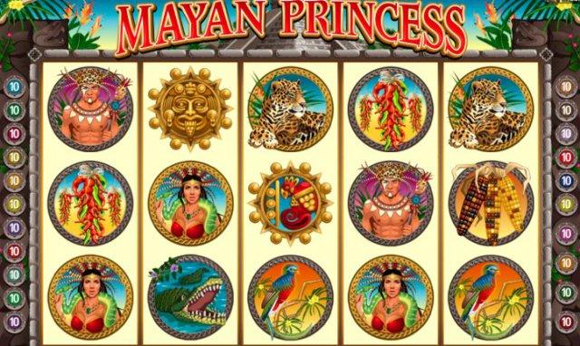 Интересный игровой автомат «Mayan Princess» в зеркале «Вулкан Делюкс»