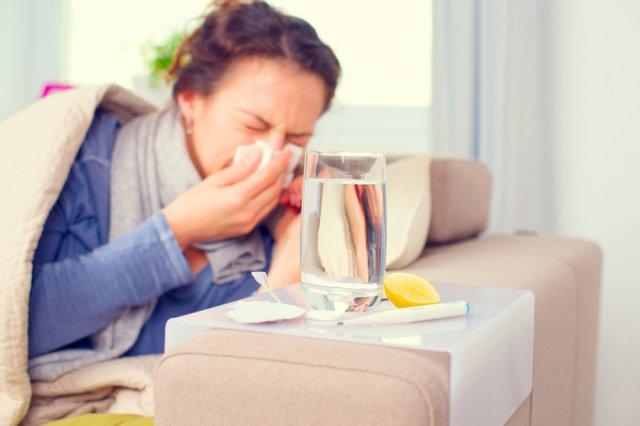 Простуды и грипп: зуд в носу, кашель, насморк, недомогание 2