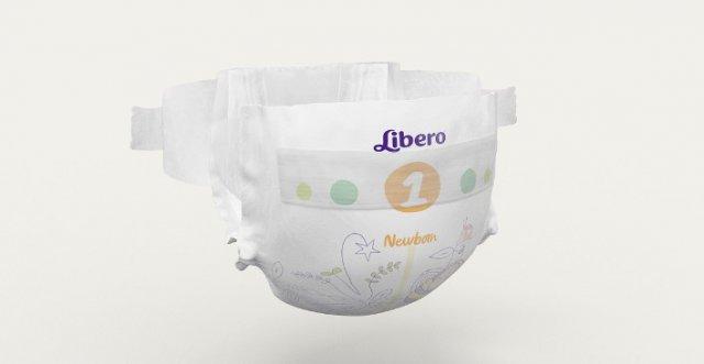 Подгузники Libero Newborn 2 - мягкая защита от протеканий для новорожденных 2