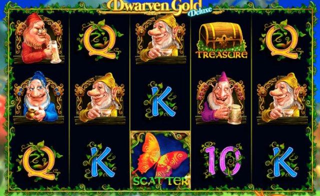 Автомат онлайн Dwarven Gold Deluxe