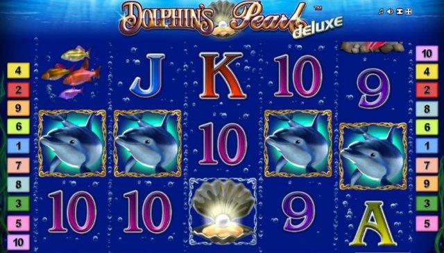 Игровой слот Dolphin's Pearl
