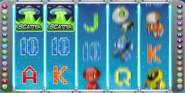 Автоматы онлайн Alien Robots